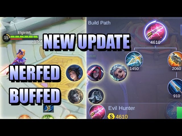 NEW UPDATE - NEW ITEM, HARITH LEO KIMMY NERF 😅 BETTER LATE THAN NEVER