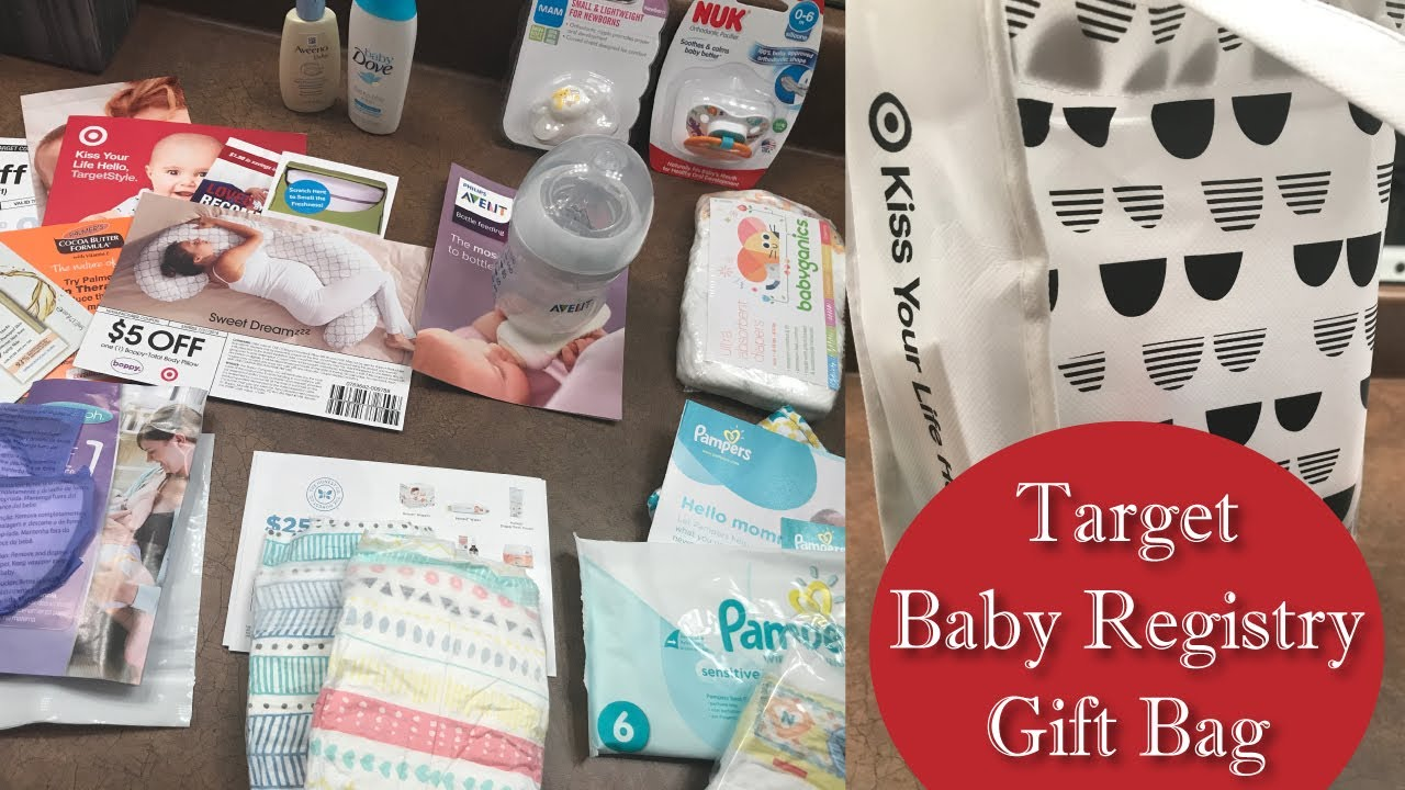 Target Baby Gift Bag Unboxing - July 2017 | PREGNANCY & Target Baby Gift Bag Unboxing - July 2017 | PREGNANCY - YouTube