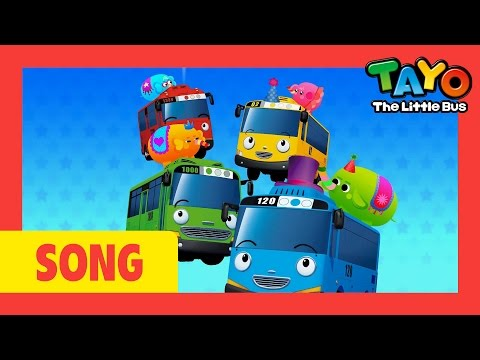 Tayo Song One Elephant Went Out To Play l Nursery Rhymes l Tayo the Little Bus