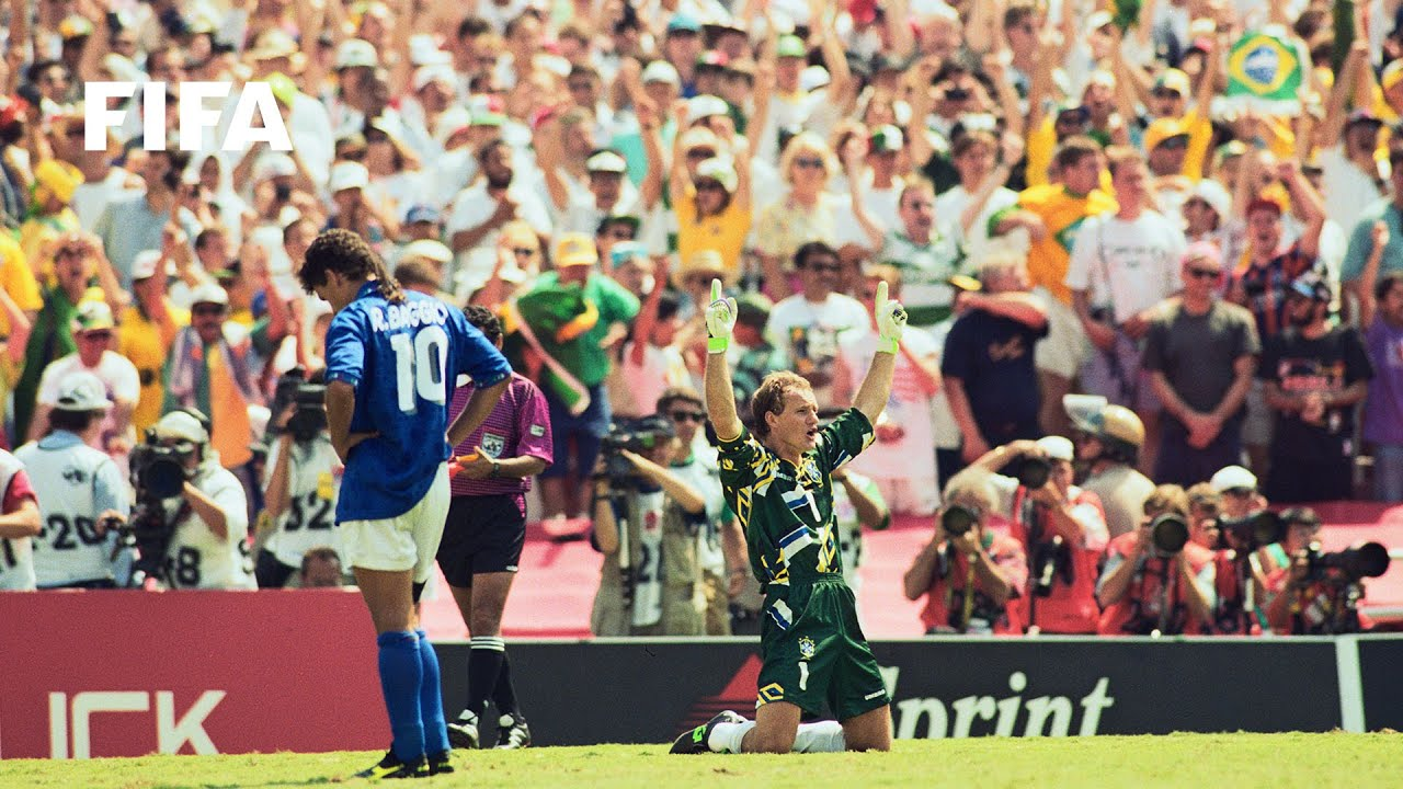 b22ff62db06 Brazil v Italy - The Final - 1994 FIFA World Cup USA™ - YouTube