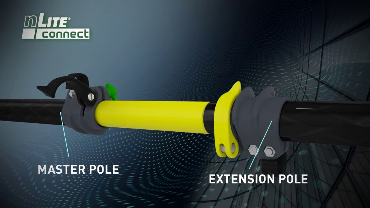 Unger nLite Pole System - The Worlds Most Advance Water Fed Poles