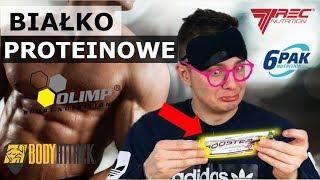 WIELKI TEST BATONÓW PROTEINOWYCH - TREC czy OLIMP?!