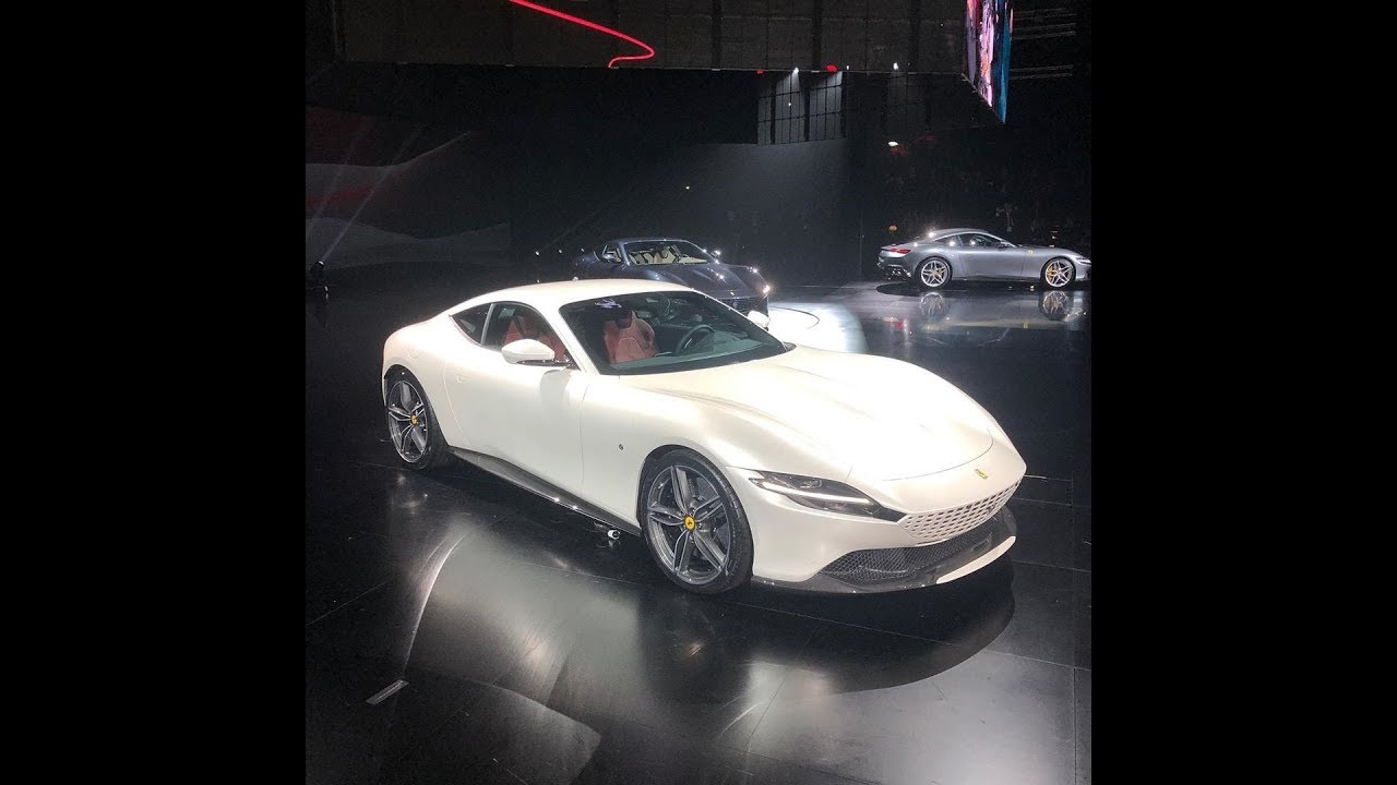 Ferrari Roma foto, caratteristiche tecniche e prestazioni