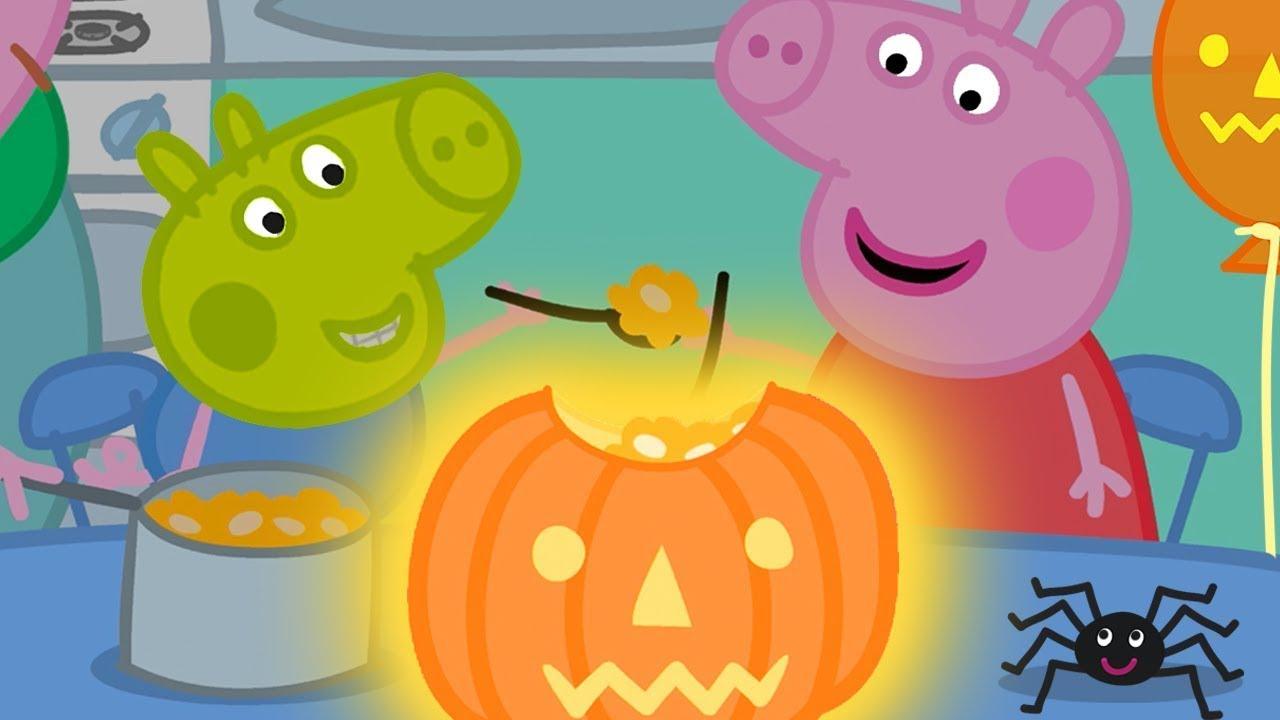 Peppa Pig Italiano ? La Gara Di Zucche ? Speciale Halloween - Cartoni Animati