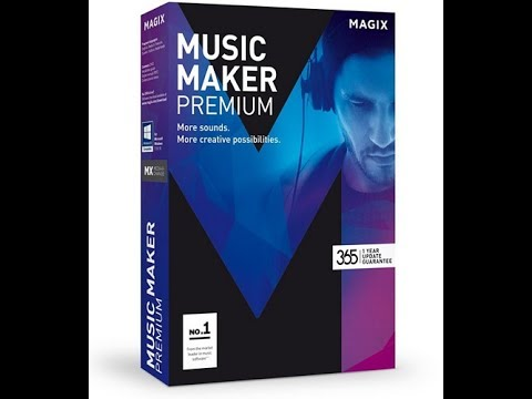 How To Download MAGIX Music Maker Premium 24.1.5 Video 720p 2017