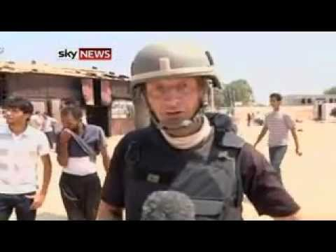 Sky News Shown Mass Grave In Tripoli - Up To 150 Reportedly Massacred