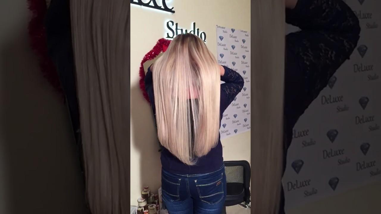Наращивание волос в челябинске сколько стоит