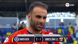 Damian Frascarelli Jugador Del Partido Santa Rita Vs Barcelona - Copa Ecuador