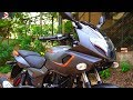 Bajaj Pulsar 180F Beautiful Matte Gray Orange Walkaround #DinosVlogs