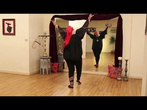 Amany Farouk Teaching Modern Ghawazi At Cairo Belly Dance