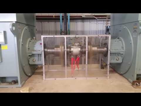 2.2 MW Motor Demo at Danfoss Drives