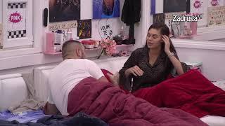 Zadruga 4 - Žestoka svađa Mine i Cara, on pobesneo, šutira joj stvari - 14.11.2020.