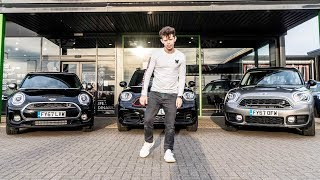 They gave us £100,000 Worth of Mini's for a day