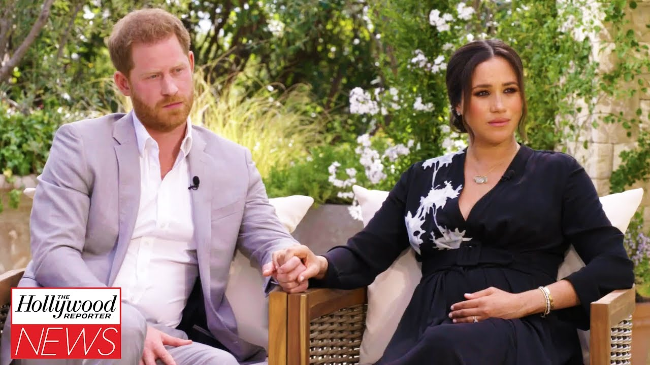 Prince Harry, Meghan Markle Open Up to Oprah About Intense Press Scrutiny in New Clip | THR News