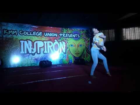 KMM College D4 Dance Fame Saniya Ayyappan Inspiron 2K17