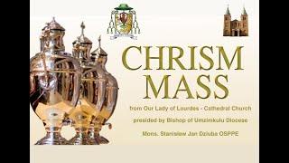 Chrism Mass in Lourdes Mission