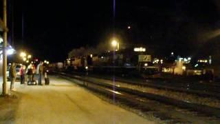 4 Norfolk Southern Lite Engines at Gainesville, GA Amtrak Station