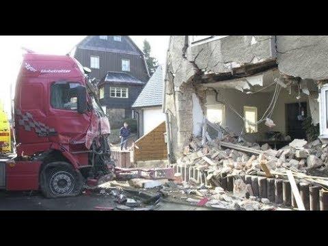 😂🚛-lkw-fährt-crash-ins-schlafzimmer---truck-drives-back-into-the-bedroom