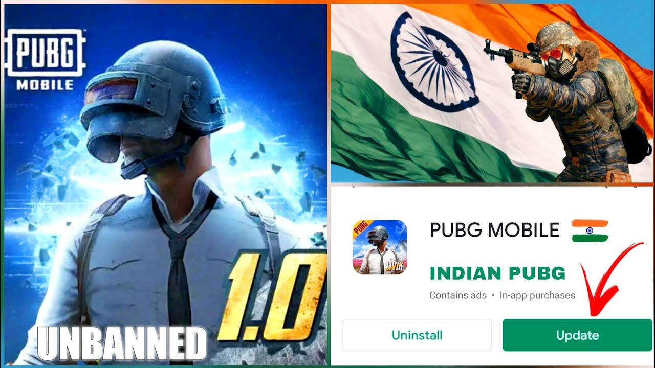 PUBG NEW UPDATE : UNBANNED IN INDIA | PUBG MOBILE BAN IS REMOVED | LATEST NEWS ON PUBG BAN