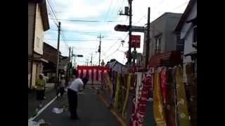 桐生新町染め流し 2014.08.02
