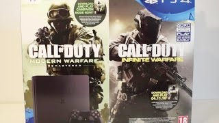 Playstation 4 Slim & Call of Duty: Infinite Warfare - 1TB [BETA ACCESS] unboxing