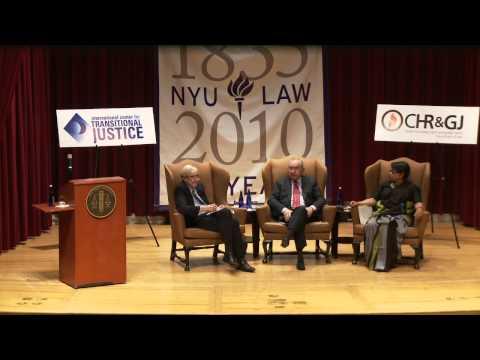 Fifth Annual Emilio Mignone Lecture on Transitional Justice