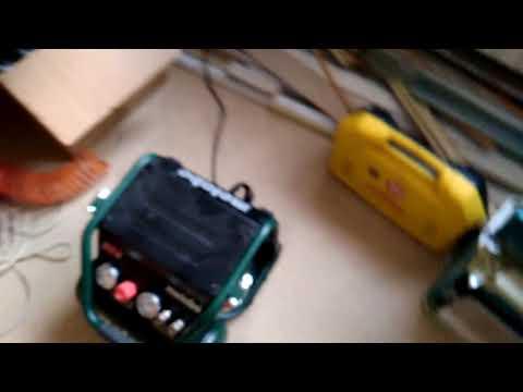 Compresseur Metabo Power 250 10 W Of Sans Huile 220 L