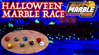 NEW Halloween Marble Race 2019 - Jelle's Marble Runs