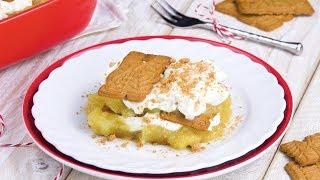 Десерт Из Яблок И Печенья: Очень Простой И Вкусный Рецепт