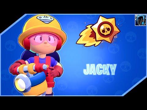 "[🎣 ASMR ↪ Brawl Stars] - ""🎮 I've Unlocked Jacky *NEW BRAWLER*! 🔨   Let's Play   For Sleep   ZzZ"""
