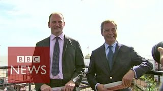 UKIP's Nigel Farage: 'Put up or shut up' to Douglas Carswell - BBC News