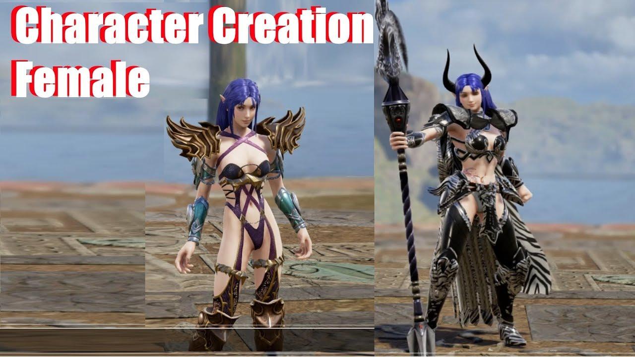 Soul Calibur 6 - Female Character Creation / Waifu Simulator (4 Hours in 10  Minutes)