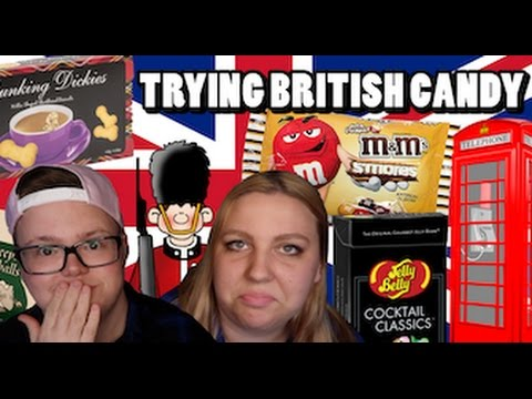 CANADIANS TRY BRITISH CANDY | GENUINELY GAGE