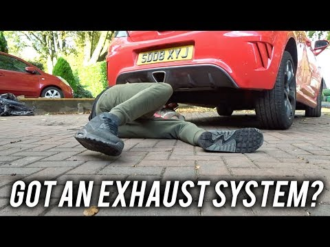 INSTALLING INTAKE HOSE!! *new exhaust*
