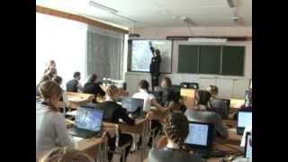 Презентация современного кабинета физики в лицее № 9.