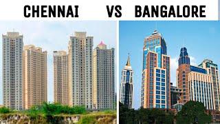 CHENNAI vs BANGALORE Full View Comparison (2018) |Plenty Facts |Chennai City vs Bangalore city