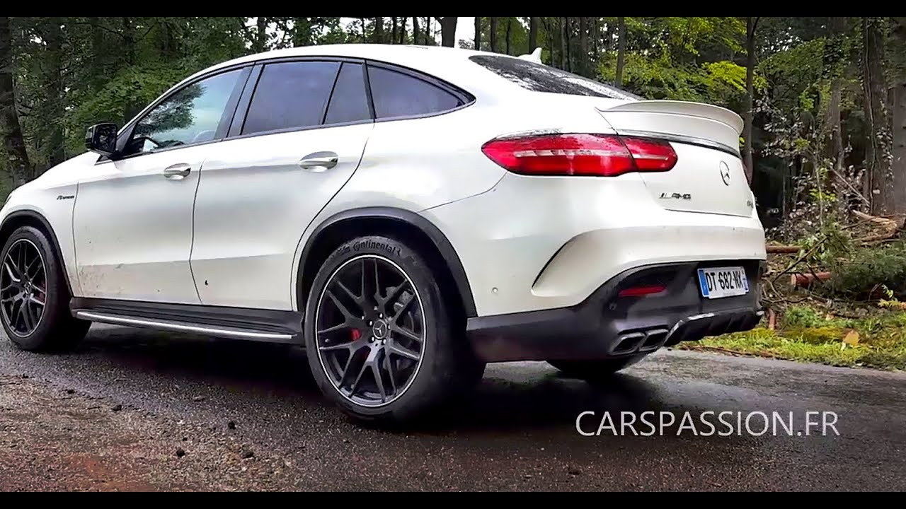 Acceleration Mercedes Gle Coupe 63 S Amg 585 Pure Sound Youtube