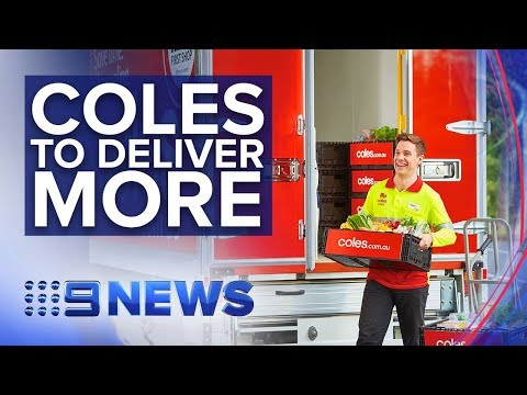 Coles Partners With Robot Supermarket Ocado For Online Overhaul   Nine News Australia