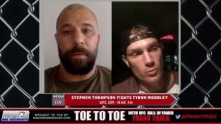 Frank Trigg interviews UFC 209's Stephen Wonderboy Thompson