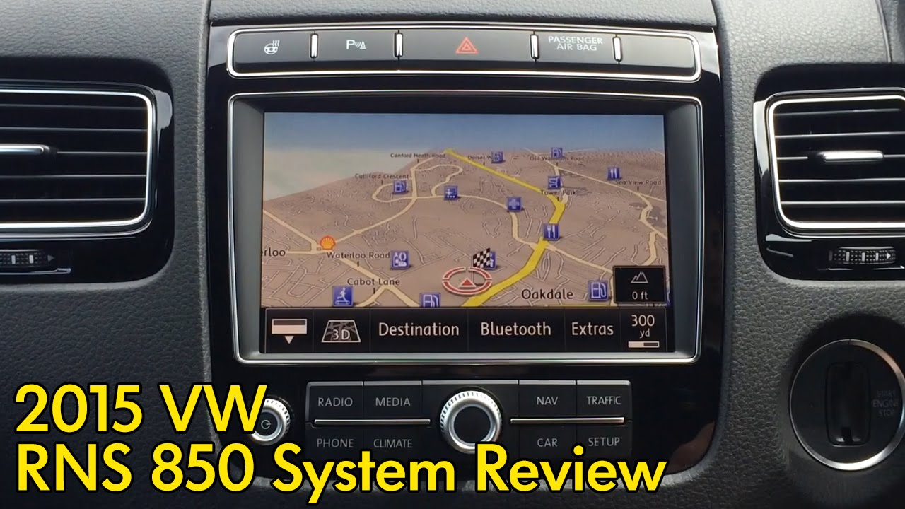 Volkswagen RNS 850 System Review