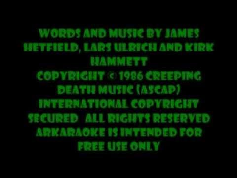 Sanitarium - Metallica karaoke