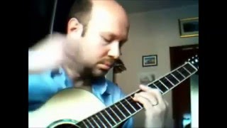 Fingerstyle Guitar - Cherry Pink and Apple Blossom White