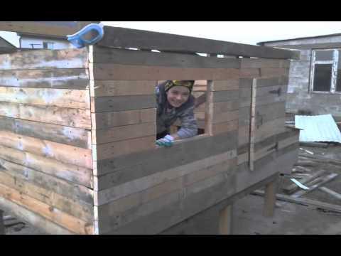 видео: Как я строил курятник
