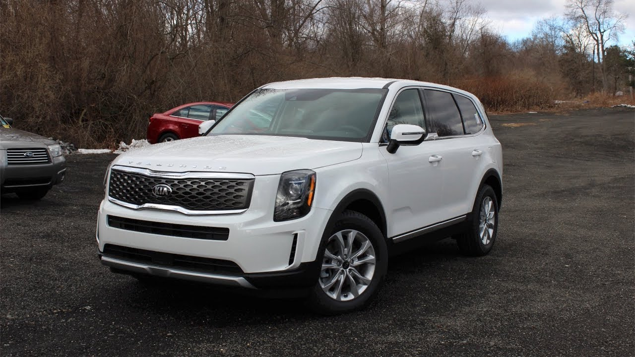 2020 Kia Telluride Lx First Person In Depth Look Youtube
