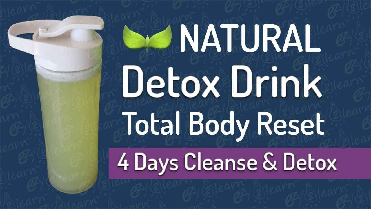 Secret Detox Drink Recipe - Natural