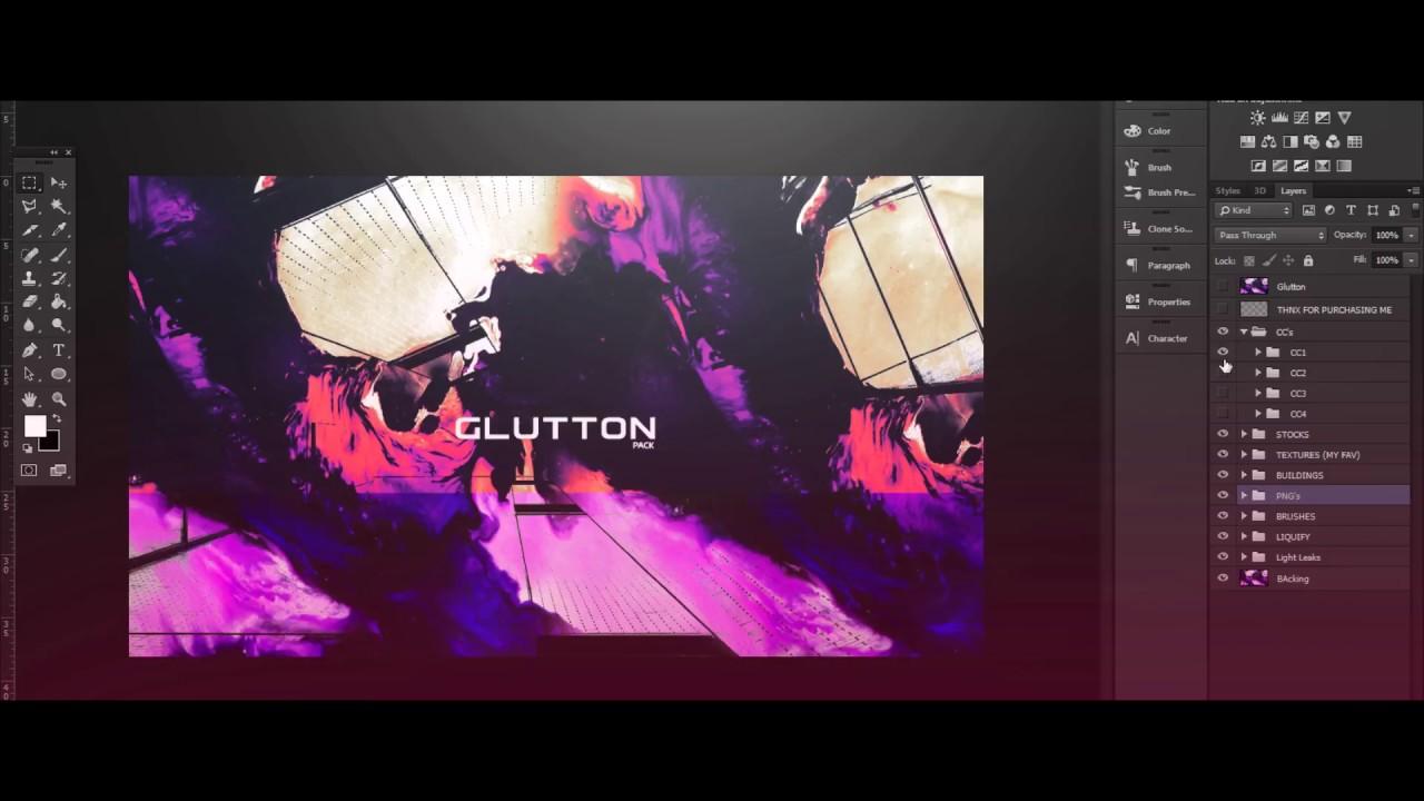 Glutton GFX Pack