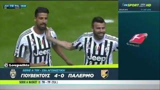 Γιουβέντους - Παλέρμο 4-0