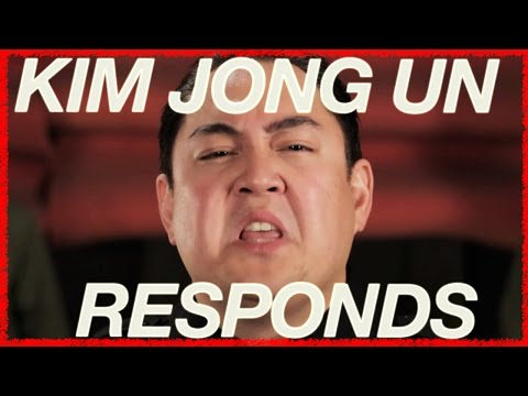 "Kim Jong Un Responds to The Interview (Taylor Swift ""Blank Space"" Parody)"