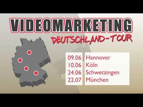Videomarketing Tour (München, Köln, Hannover, Schwetzingen)