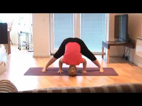 preparation for crow yoga pose  bakasana  youtube